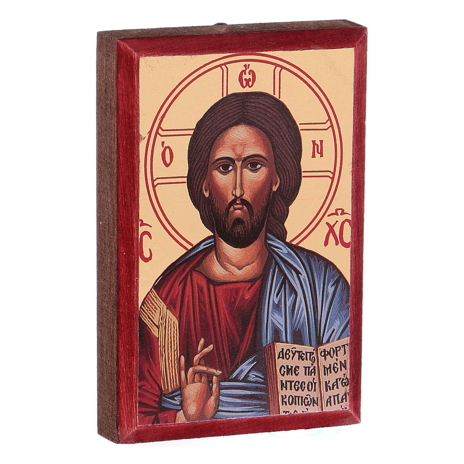 Íconos estampados Jesús, María, 4