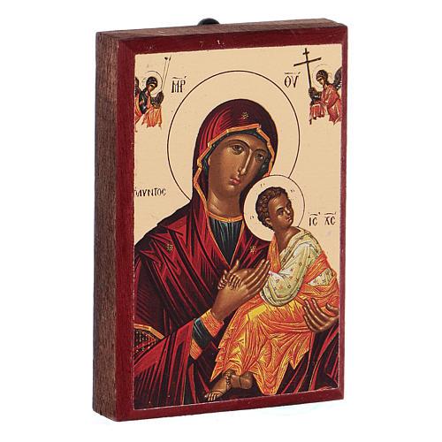 Íconos estampados Jesús, María, 2
