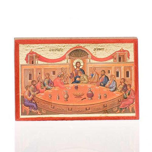 Icone stampate Gesù, Maria, Ultima cena, Trinità 2