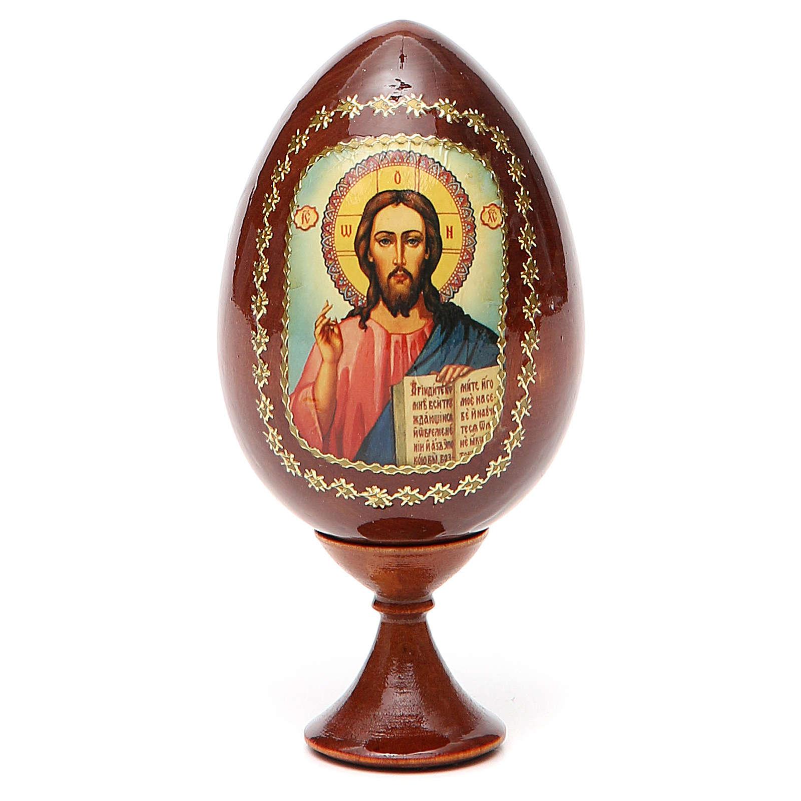 Icona Cristo Pantocratore stampata 4