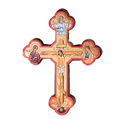 Ikone Kreuz gedruckte 1
