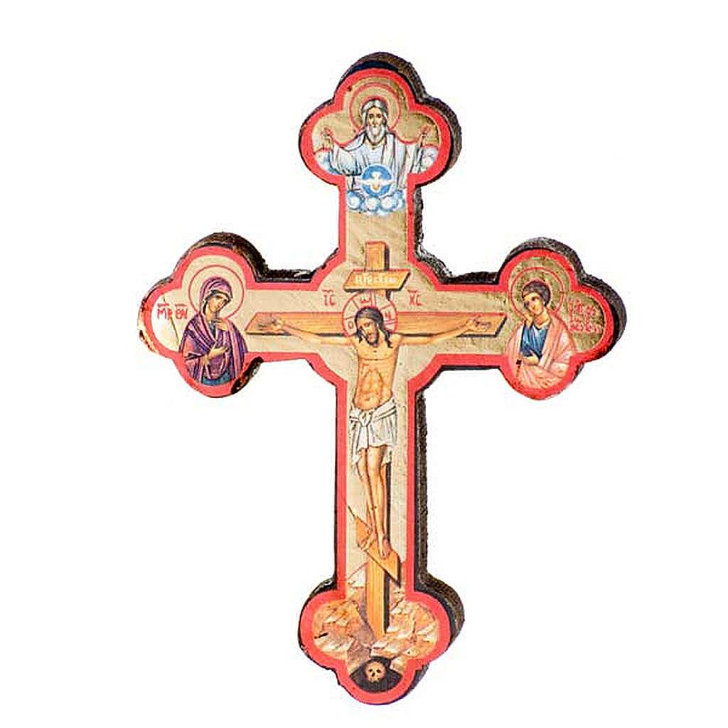 Ikona Krzyż nadruk 4