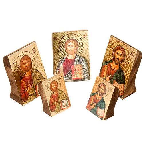 Icona Gesù stampa sagomata 1