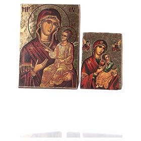 icône de la Vierge imprimée et modelée s3