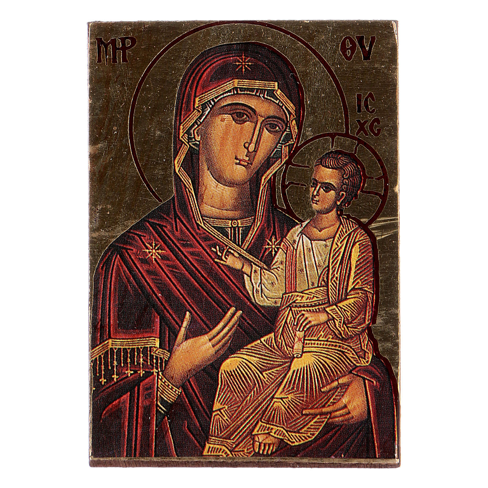 Icona Maria stampa sagomata 3