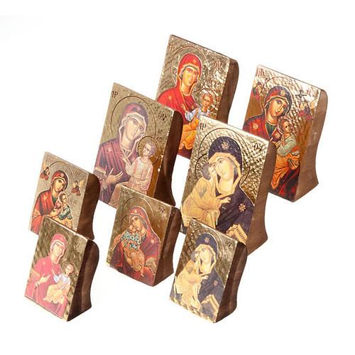 Icona Maria stampa sagomata 1