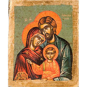 Ikona Święta Rodzina serigrafia profilowana s1