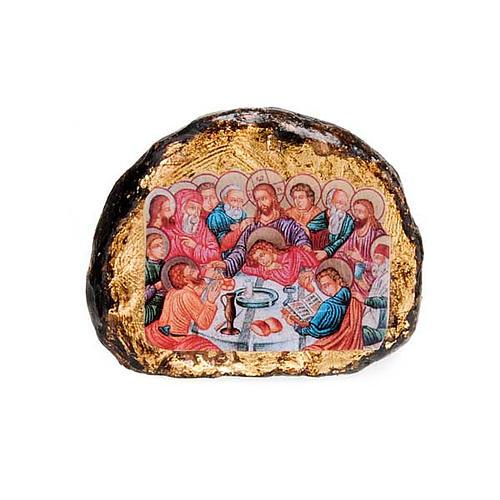 Icona stampata terracotta scene 5