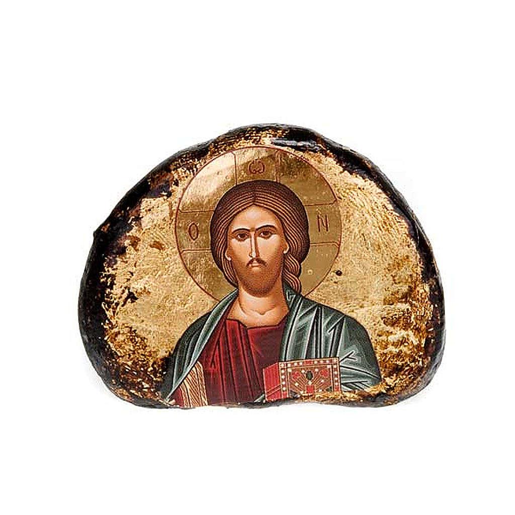 Icone stampate terracotta Gesù, Maria 4