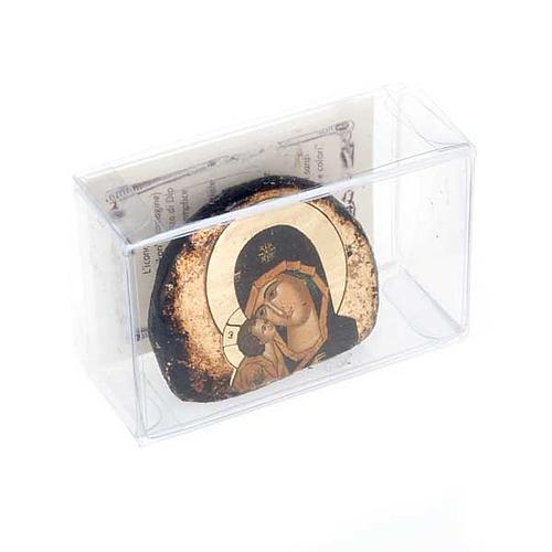 Icone stampate terracotta Gesù, Maria 2