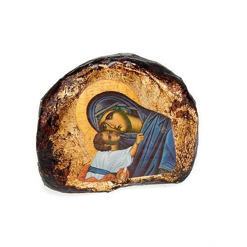 Icone stampate terracotta Gesù, Maria 3