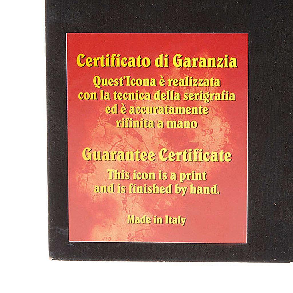 Ícono serigrafiado del Papa Juan Pablo II 4