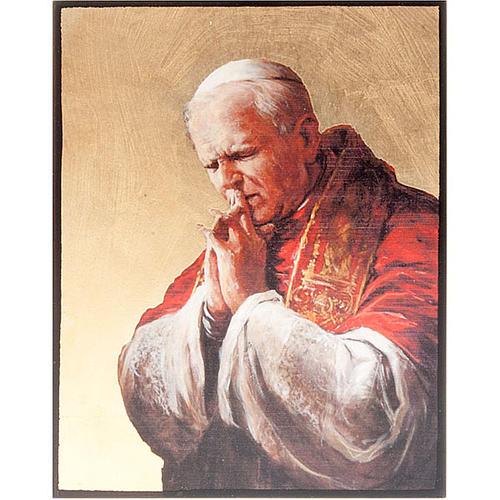 Ícono serigrafiado del Papa Juan Pablo II 1