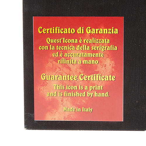 Icona serigrafata Papa Giovanni Paolo II 2