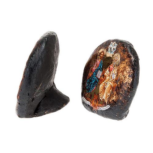 Icône imprimée,terre cuite Ascension Sainte Trinité 2