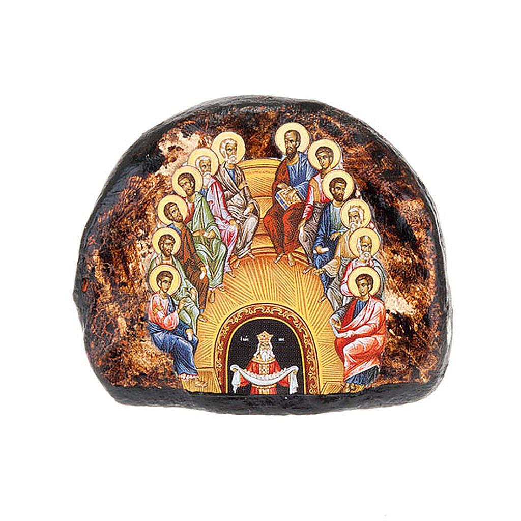 Icona stampata terracotta Pentecoste 4