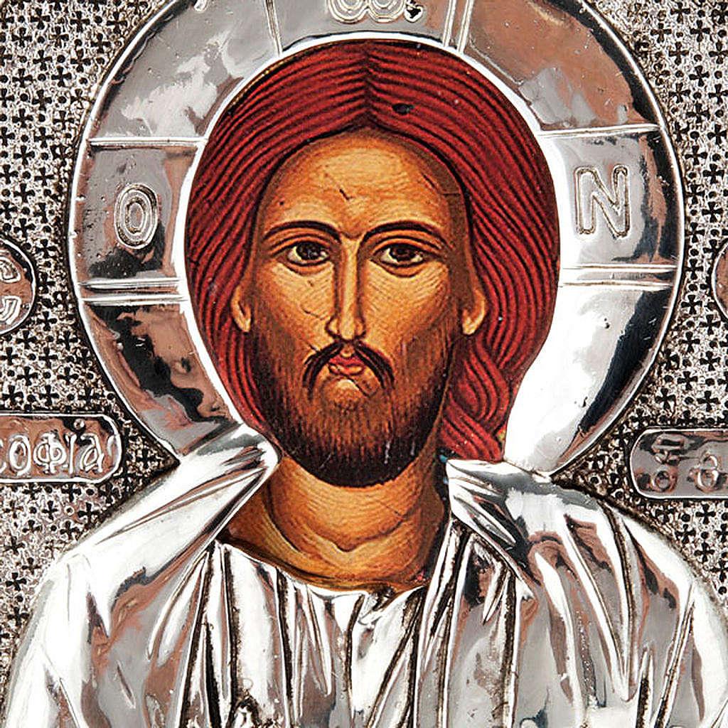 Icona stampa Cristo Pantocratore da tavolo 4