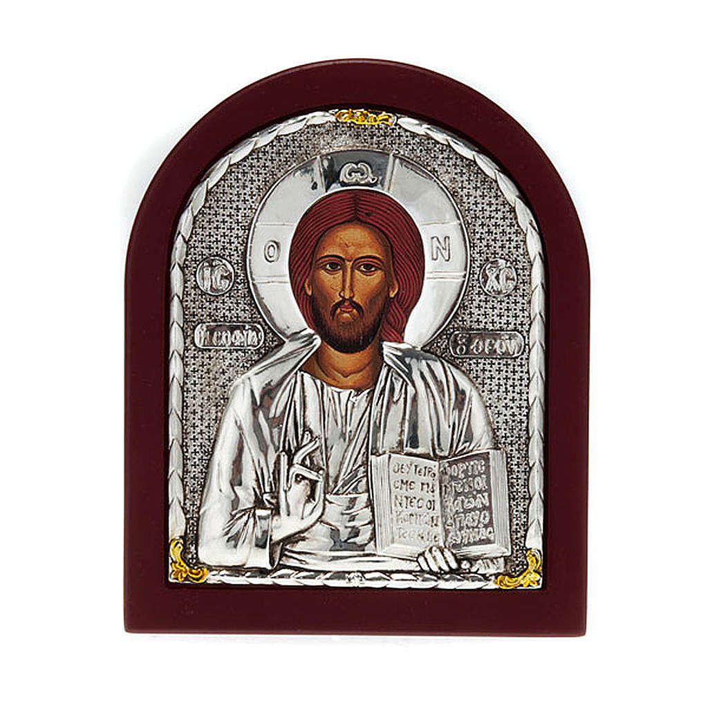Icon print on wood, Pantocrator, for table 4