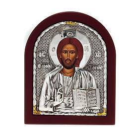 Icon print on wood, Pantocrator, for table s1