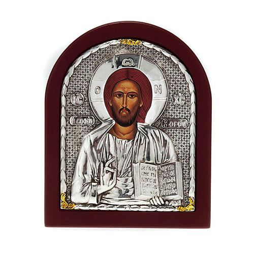 Icon print on wood, Pantocrator, for table 1