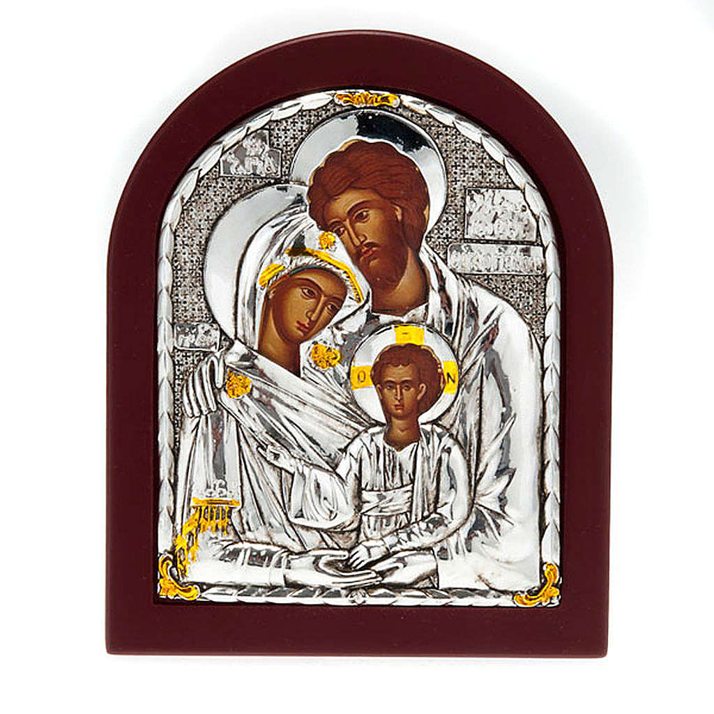 Icona stampa Sacra Famiglia da tavolo 4