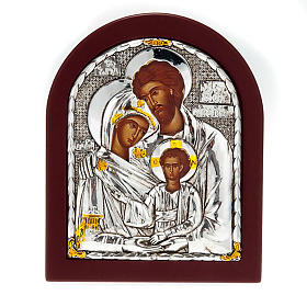 Icona stampa Sacra Famiglia da tavolo s1