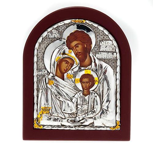 Icona stampa Sacra Famiglia da tavolo 1