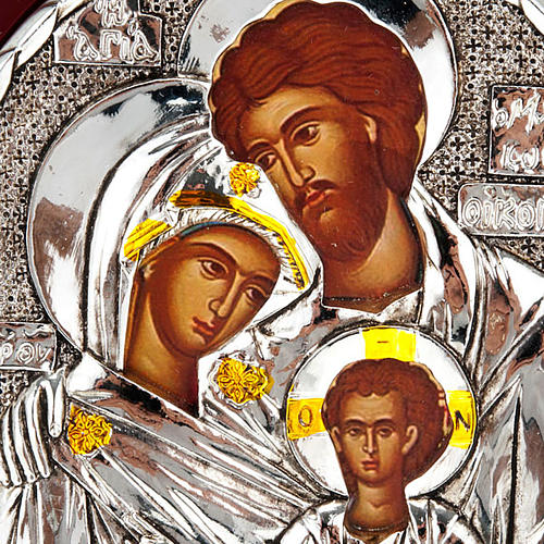 Icona stampa Sacra Famiglia da tavolo 2