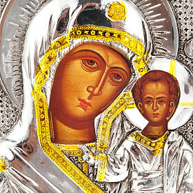 Icon print Our Lady with baby, for table s2