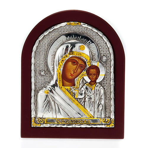 Icon print Our Lady with baby, for table 1