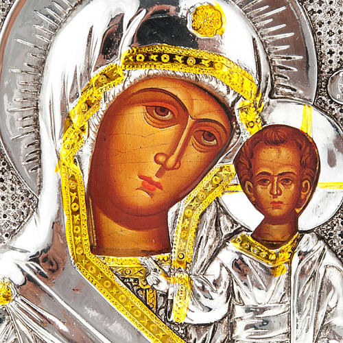 Icon print Our Lady with baby, for table 2