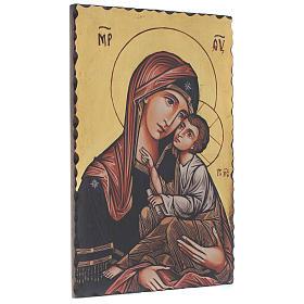 Icona serigrafata Vergine Odigitria 60x40 cm s2