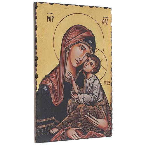 Icona serigrafata Vergine Odigitria 60x40 cm 2