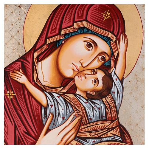 Icona Vergine Vladimir 45 x 30 cm Romania 2