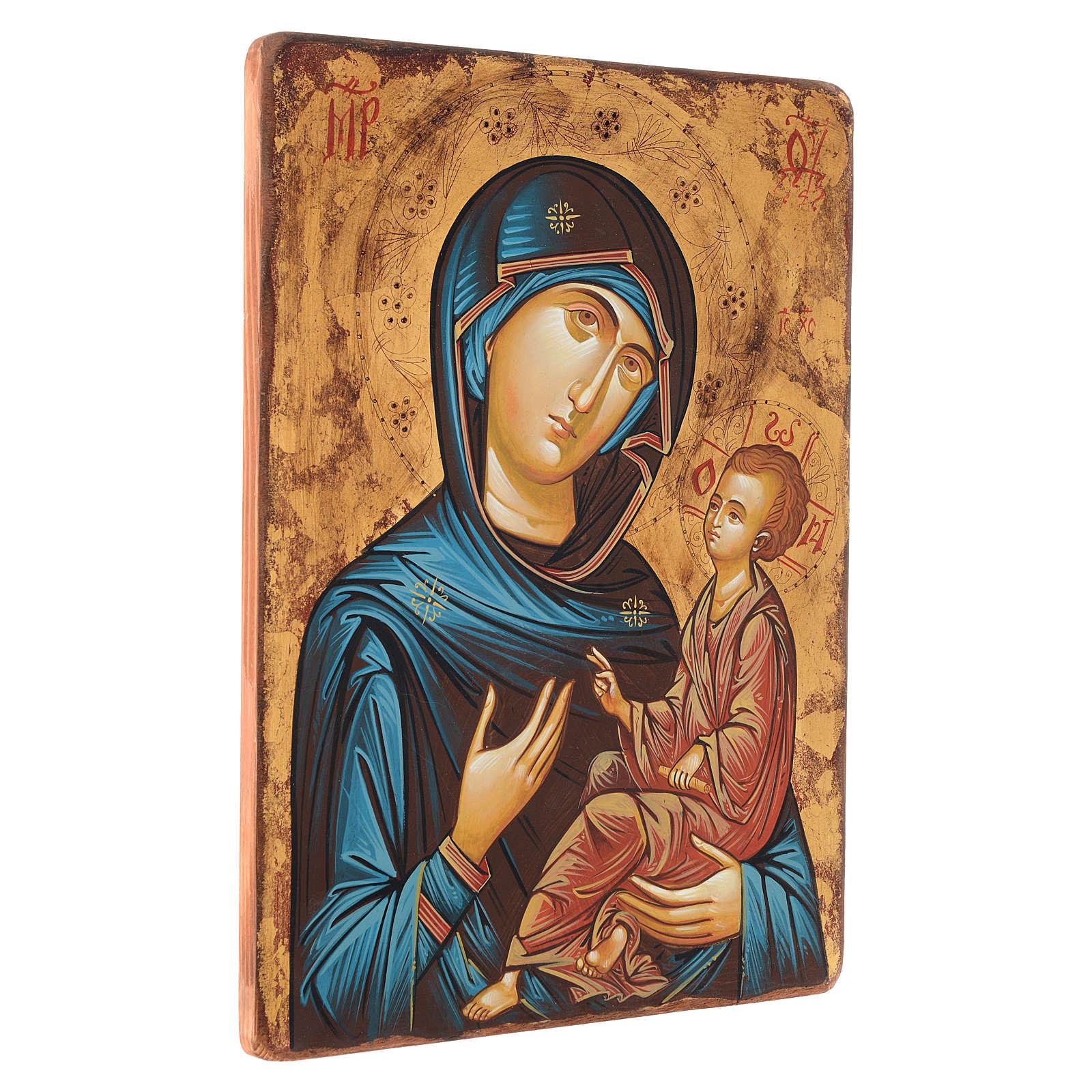Icona Vergine Hodighitria 45 x 30 cm Romania 4