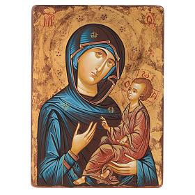 Icona Vergine Hodighitria 45 x 30 cm Romania s1