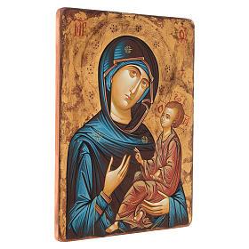 Icona Vergine Hodighitria 45 x 30 cm Romania s2