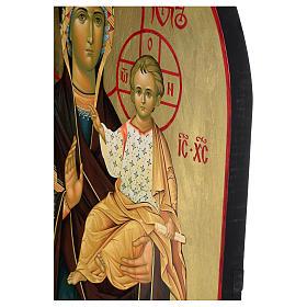 Ícone russo Nossa Senhora de Smolensk serigrafia 120x50 cm s5