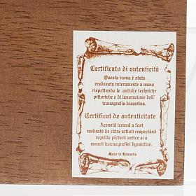 Icona SS. Trinità 40x45 cm Romania s5
