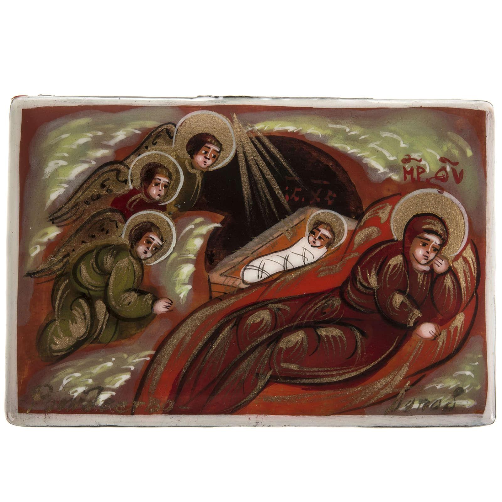 Laca rusa Mstjora Natividad Clásica 4
