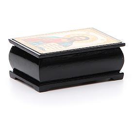 Boîte russe papier mâché Pantocrator s2