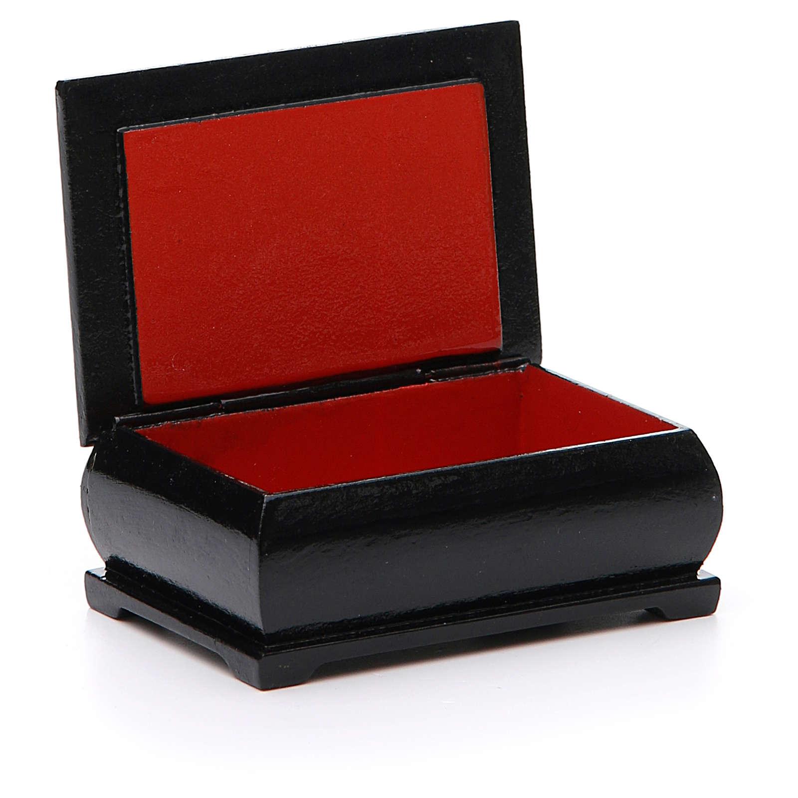 Box lacquer Russia Pantocrator 4