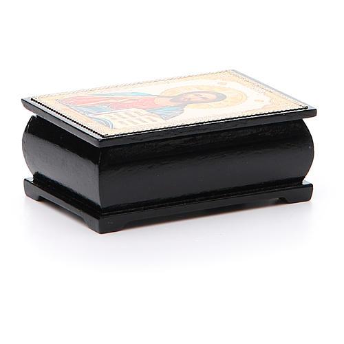 Box lacquer Russia Pantocrator 2