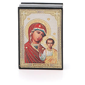 Russian lacquer boxes: Box enamel Russia Kazanskaya