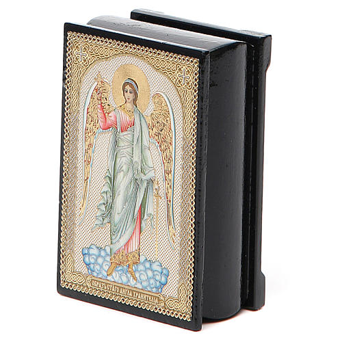 Box enamel Russia Guardian Angel 5