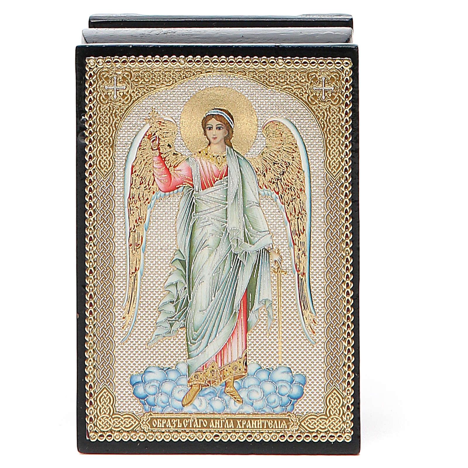 Box enamel Russia Guardian Angel 4