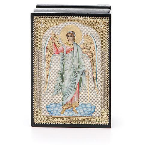 Box enamel Russia Guardian Angel 1