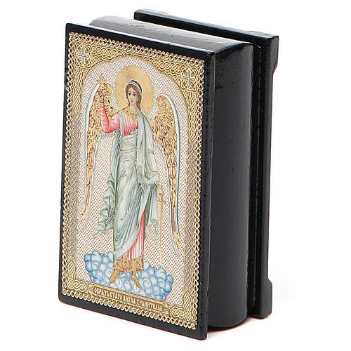 Box enamel Russia Guardian Angel 5