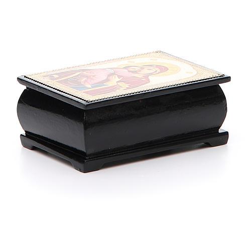 Box enamel Russia Vladimirskaya 2