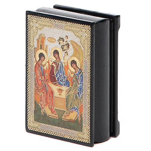 Box enamel Russia Rublev Trinity 5
